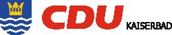 CDU Kaiserbad Logo